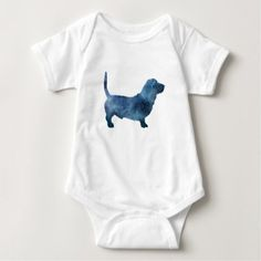 Wrap your little one in custom Basset Hound baby clothes. Cozy comfort at Zazzle! Personalized baby clothes for your bundle of joy. Basset Hound Dog, Personalized Baby Clothes, Animal Silhouette, Dog Art, Baby Bodysuit, Bodysuits, Aunt, Shoes, Fashion