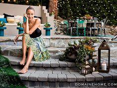 Nicole Richie Makes Over Her Backyard - Beautiful Backyard Oasis Inspiration!