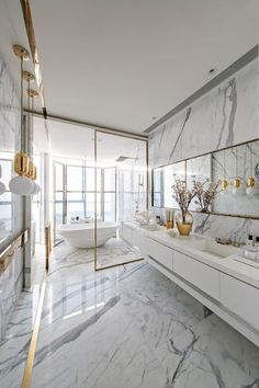 Why you should use marble in your next bathroom renovation - Vogue Living