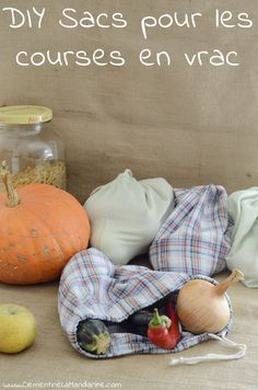 DIY : sacs à vrac pour les courses zéro déchet + kit de couture