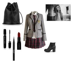 """""""#400"""" by because-why-not ❤ liked on Polyvore featuring Boohoo, Marc Jacobs, Smashbox and Stila"""