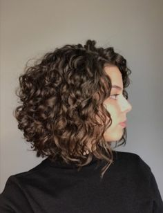 Curly Hair Ponytail, Curly Hair Tips, Long Curly Hair, Brown Curly Hair, Haircuts For Curly Hair, Curled Hairstyles, Pretty Hairstyles, Short Hair Cuts, Short Hair Styles