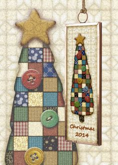 Gingerbread Studio has been creating collectible Christmas ornaments since 1999 This Christmas tree is part of a set featuring a Santa Snowman Angel and a tree Collect all four Dated ornaments are a great gift for first home new baby first Christmas together! Attach to a bottle of wine with a big bow