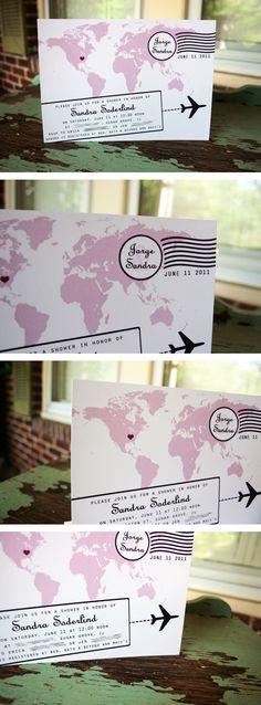Travel Theme...invites