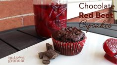 Chocolate Red Beet Cupcakes | Vegan | Gluten-Free — Nuts About Granola