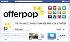 Offerpop develops social apps, so having a support experience inside of Facebook was important to them.