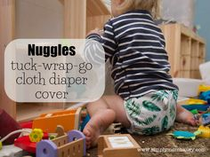 Nuggles Cloth Diaper Cover Review: The Tuck-Wrap-Go Cover Fitted Cloth Diapers, Cloth Diaper Covers, Baby Sandals, Baby Shoes, Crochet Baby Booties, Crochet Hats, Newborn Hats, Baby Education, Baby Cardigan