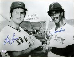 "Fred Lynn & Jim Rice !!.....""THE   DUST TWINS ""   CAME UP TOGETHER IN 1975 !!"