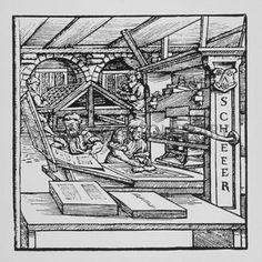 16th century printing press