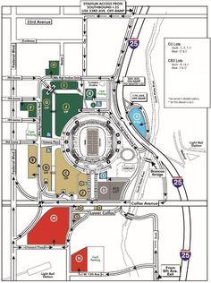 38 Best Orange & Blue images in 2017 | Broncos fans, Denver broncos Denver Broncos Parking Lot Map on
