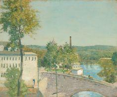 US Thread Company Mills, Willimantic, Connecticut (Julian Alden Weir).
