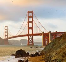 California, the golden state, my home for the first 18 years of my life.. :)