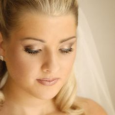 Wedding make up - love the eye shadow!