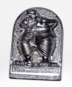 Hun Payont Dta Ba Khaw - Nuea Dtakua (Sacred Lead) - 'Hmeun Yant' Edition (1000 Yantra) 2555 BE - Por Tan Kloi | $56.00