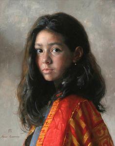 By Arsen Kurbanov, from St Petersburg (b. 1969) - oil painting -