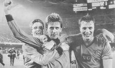Barcelona 1 Dundee United 2 - Gallacher, Ferguson and Clark.