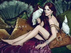 Julianne Moore Bulgari Jewelry Ad Spring-Summer 2010