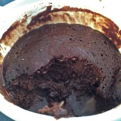 The Beltsander Brownie is cooked for 20-30 seconds, and consists of these ingredients: 1 scoop protein powder, 1/4 cup almond milk, 2 tbsp cocoa powder, & a pinch of baking powder. Trust that you don't need to cook it long… and it is SOO good and actually tastes extremely sinful, even though it is actually healthy.