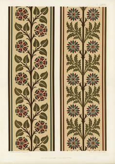 30 ideas for floral art prints paint Motifs Textiles, Textile Patterns, Textile Prints, Floral Patterns, Art Prints, Border Design, Pattern Design, Border Pattern, Fabric Design