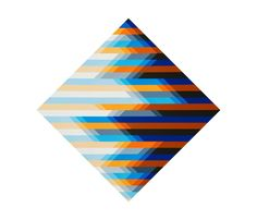 Optima Forma  geometric Madi art by  Beti Bricelj