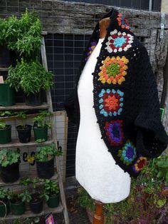 Crocheted Shrug... by Loving The Vintage, via Flickr