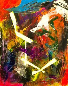 Kontact #abstractexpressionism #modernart #abstractart #art #painting