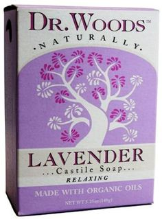 Dr. Woods Natural Soap, Lavender, 5.25 Ounce by Dr. Woods. $1.92. Not Petroleum Derivatives. Made With Organic Oils. 100% Natural And Vegan. Dr. Woods offers all natural, affordable personal care products, including castile soaps, black soap, Shea Vision soaps with organic shea butter, facial cleansers and lip balms. No animal ingredients, pH balanced, biodegradable, no lauryl/laureth sulfates, paraben and phthalate free - never tested on animals.. Save 73% Off!