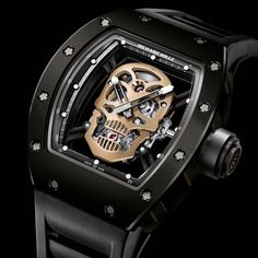 Richard Mille Nano-ceramic RM 52-01 Skull Tourbillon HD IMAGE @DestinationMars