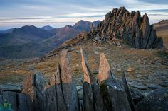 Castell y Gwynt Sunrise Snowdonia, Half Dome, The Rock, Sunrise, Sky, Mountains, Wales, Rocks, Photography