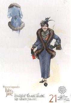 What Ever Happened to Baby Jane? (Bonnie Dunbar). Theatre Under the Stars, Houston. Costume design by Eduardo Sicangco.