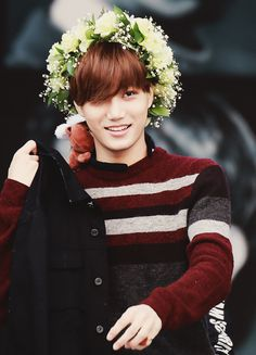 Jongin cuteness overload!!! (and that little bear on his neck) :3 I'm gonna die