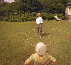 Agnes made damn sure Tony never mis-watered the lawn again.