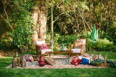 lounge de estilo marroquí