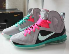 Lebron 9 Elite South Beach from Picsity.com