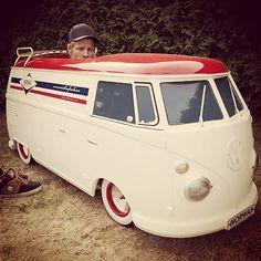 Norwaii Longboards - Delivery Van. VW split - Scale 1:2,5 Electric GoKart