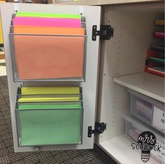 Are you like me and don't have a lot of space? Or maybe you just don't like clutter? Well I have a solution for you! I grabbed a few command hooks and some storage from target and now all of my copy paper is organized and easy to grab Mrs Schrock