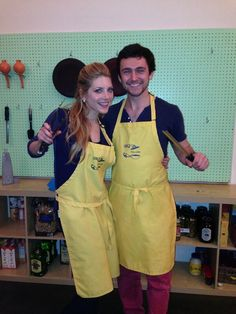 George Blagden and Katheryn Winnick, they're so cute together XD