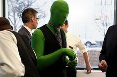 Green Men in Muskegon, love it!