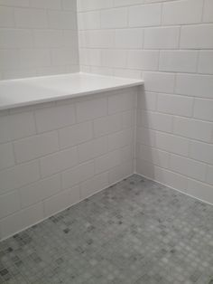 Subway Tile Shower With Bench   Google Search