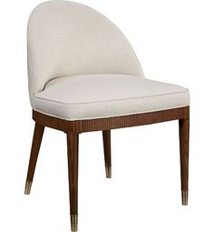 Laurent Dining Chair from the Suzanne Kasler collection by Hickory Chair Furniture Co.