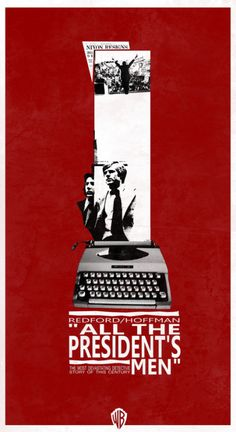 All the President's Men - Good film, some really long shots that surprised me. The typewriter shots were cool.