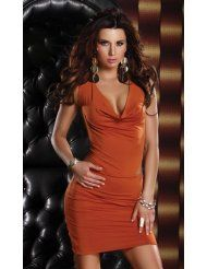 #Distinct Cowl Dress Racerback Forplay  party dresses #2dayslook #new style fashion #partystyle  www.2dayslook.com