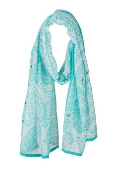Accessories Under $20: paisley print scarf with sequins (original price, $18) available at #maurices
