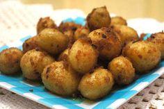 Batatinhas Douradas ao Creme de Cebola: Ótima receita para acompanhar carnes! Experimente!