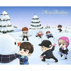 Merry Christmas GOt7 ❤️