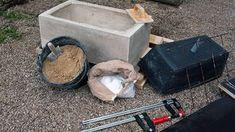 Arbeitsmaterial für ein selbst gegossenes Waschbecken © NDR Fotograf: Iris Stark