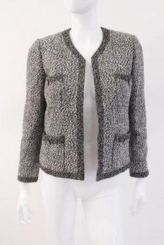 Vintage Chanel Blak White Jacket