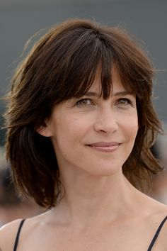 Sophie Marceau: filmography and Natural Eyes, Natural Looks, Jenifer Aniston, Natural Beauty Recipes, Bond Girls, French Actress, Natural Hair Styles, Hair Makeup, Hair Cuts