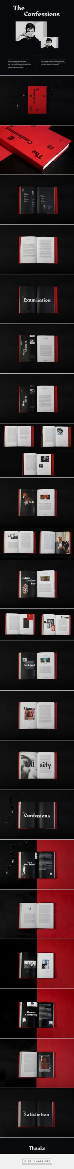 The Confessions on Behance - created via https://pinthemall.net
