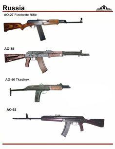 СССР / Россия: AO-27, AO-38, AO-46, AO-62